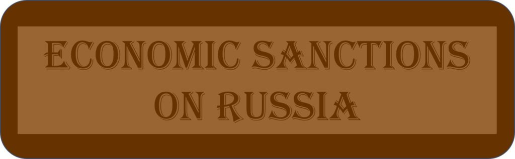 Economic Sanctions On Russia