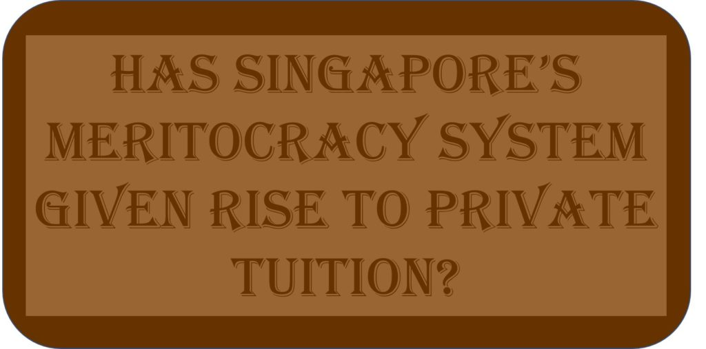Has Singapore's Meritocracy System Given Rise to Private Tuition?