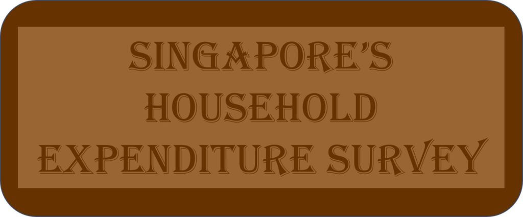 Singapore's Household Expenditure Survey