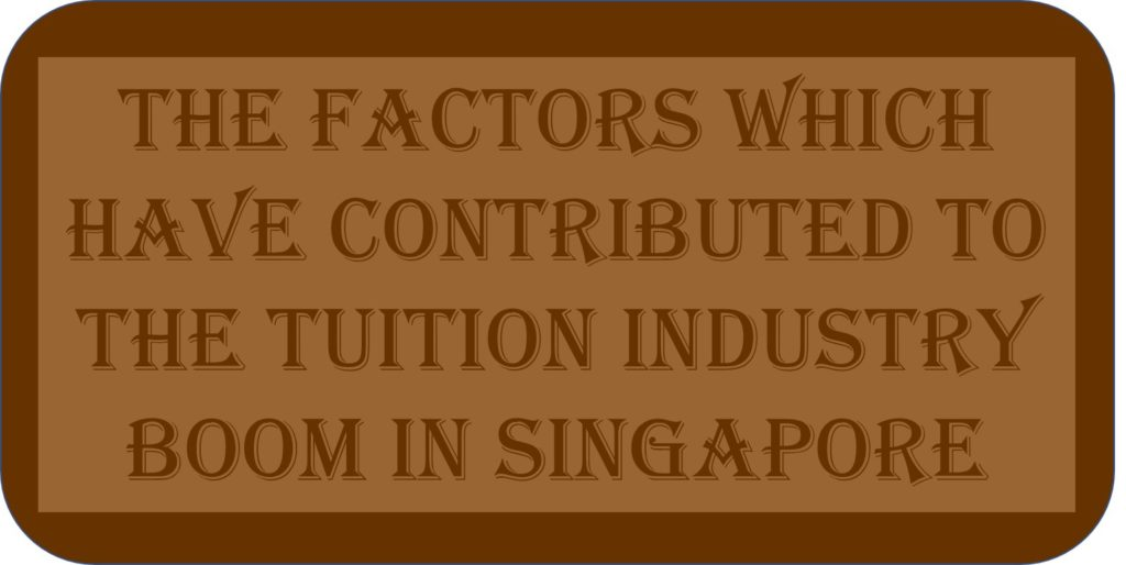 The Factors Which Have Contributed To The Tuition Industry Boom In Singapore